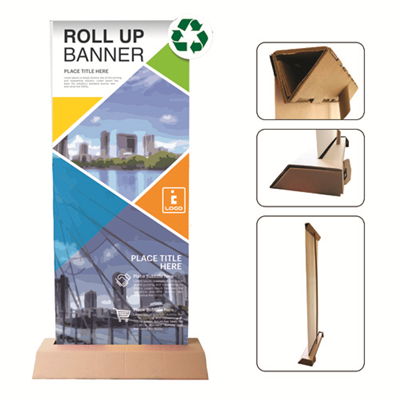 Roll Up CARTON 100 % recyclable